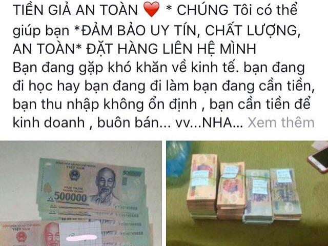 The lady lost more than 4 billion dollars because she was buying counterfeit money online