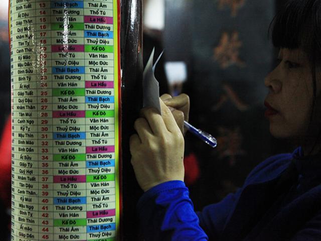 Sợ sao xấu chiếu mệnh, chen nhau đăng ký giải hạn ở chùa Phúc Khánh