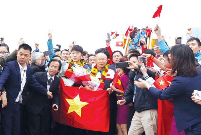 U23 Việt Nam, Siêu cúp và cảm hứng với V-League - 1