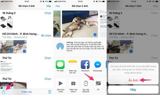 2 cách ẩn hình ảnh và video riêng tư trên iPhone - 1