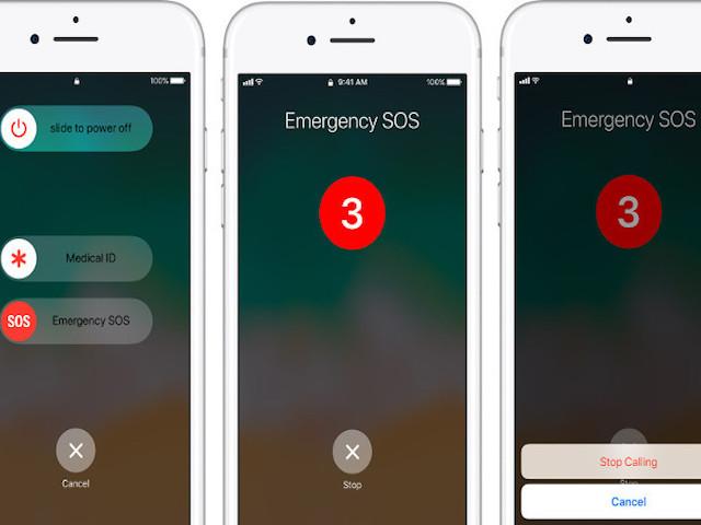 Tính năng gọi SOS trên iOS 11 lại gây phiền toái lớn cho Apple