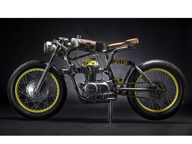 """Xế cổ điển Honda CB350 bản độ """"không đụng hàng"""""""