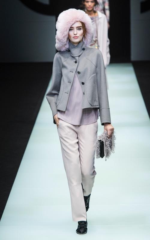 BST gần 100 mẫu cực sang chảnh của Giorgio Armani ở Milan Fashion Week - 12