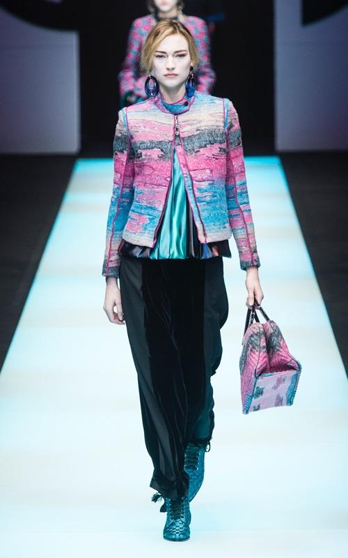 BST gần 100 mẫu cực sang chảnh của Giorgio Armani ở Milan Fashion Week - 7