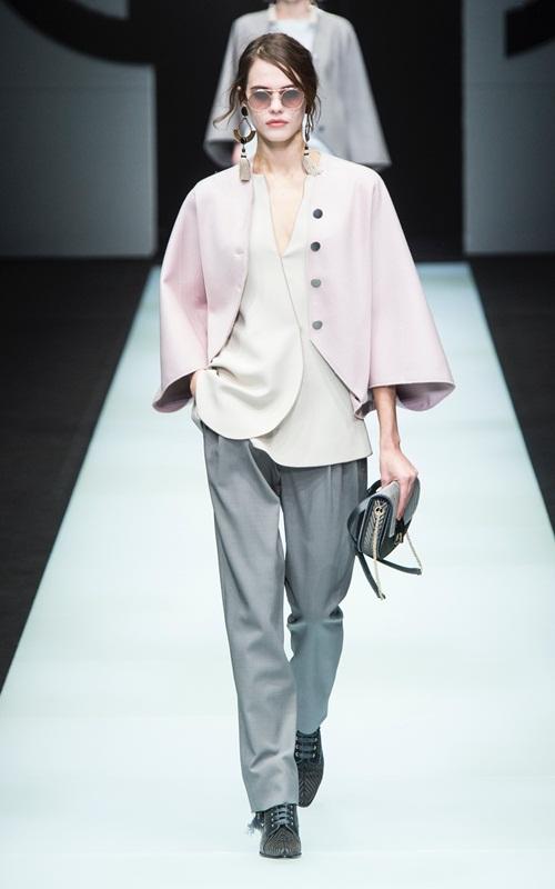 BST gần 100 mẫu cực sang chảnh của Giorgio Armani ở Milan Fashion Week - 13