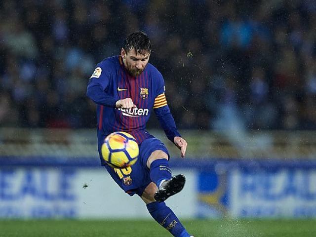 Messi sút phạt phong cách Ronaldinho: Học nốt tuyệt kỹ cuối cùng
