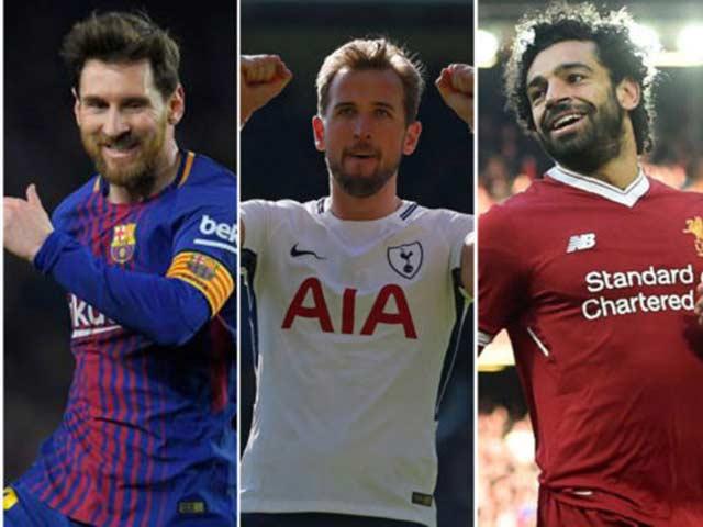 """Đua Giày vàng: Messi - Kane - Salah chung mâm, Ronaldo """"ra rìa"""""""
