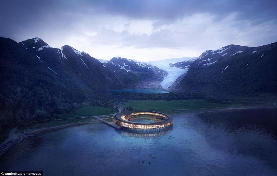 Tròn mắt với cảnh tượng tuyệt đẹp bên trong khách sạn UFO ở Bắc Cực - 1