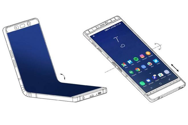 Galaxy S9 còn nóng hổi, Samsung đã úp mở thông tin về Galaxy X - 1