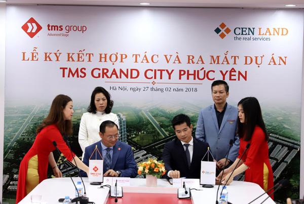 TMS Group ký kết hợp tác cùng CENLAND triển khai dự án TMS Grand City Phúc Yên - 1