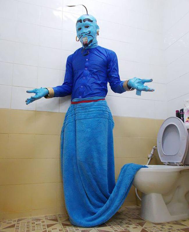 """Đây có phải là """"thần WC"""" trong truyền thuyết không?"""
