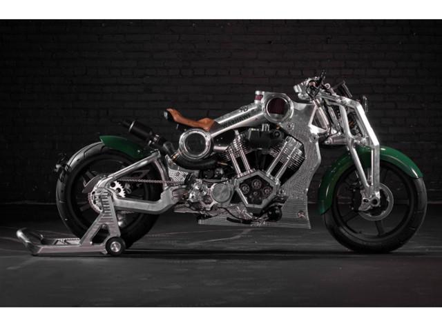 """Ngắm """"chiến cơ mặt đất"""", giá siêu khủng từ Curtiss Motorcycle"""