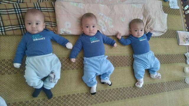 3 bé trai sinh cùng trứng - 200 triệu ca mới có 1 trên thế giới - bây giờ ra sao? - 1