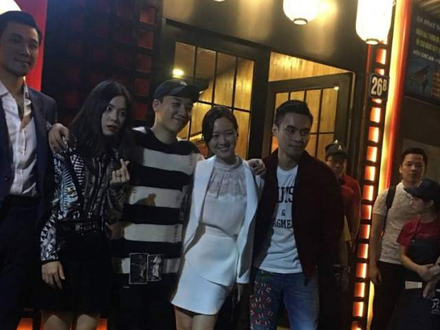 Thành viên Big Bang bí mật đến Hà Nội chuẩn bị khai trương nhà hàng