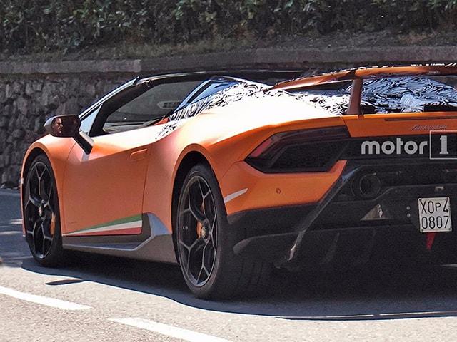 Lamborghini Huracan Spyder Performante sắp trình làng