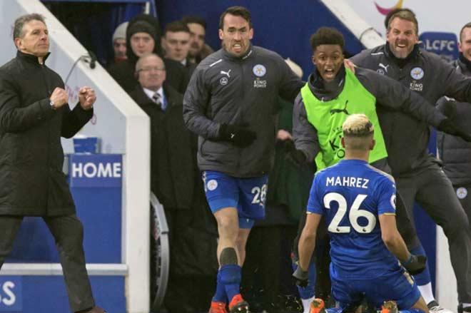 Leicester - Bournemouth: Sút phạt thần sầu, giải cứu phút 90+7 - 1