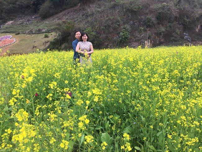 Mãn nhãn ngắm nhìn vườn hoa cải vàng óng trên cao nguyên Mộc Châu - 1