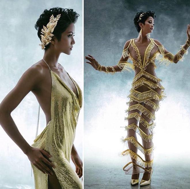 Váy xuyên thấu của H'Hen Niê phản cảm hay không? - 1