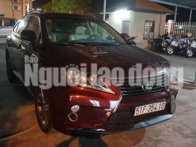 Vụ trộm xe Lexus của người tình cũ: Xe được định giá 2,8 tỉ đồng