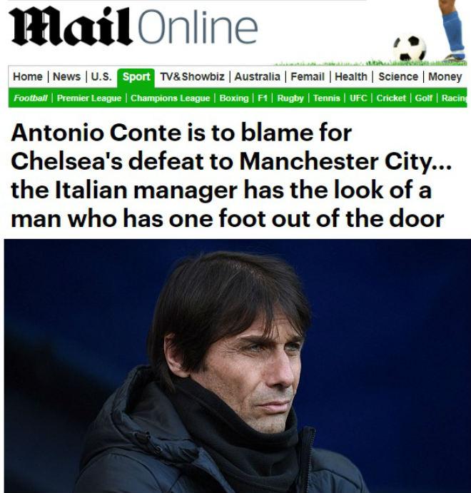 """Báo chí Anh: Chelsea là """"tội ác"""" với bóng đá, Conte xứng đáng bị sa thải - 1"""