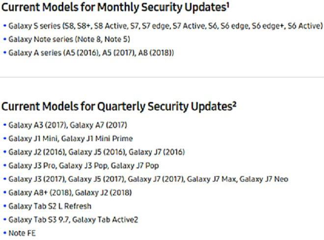 Samsung Galaxy A8+ sẽ nhận được cập nhật phần mềm theo quý - 1