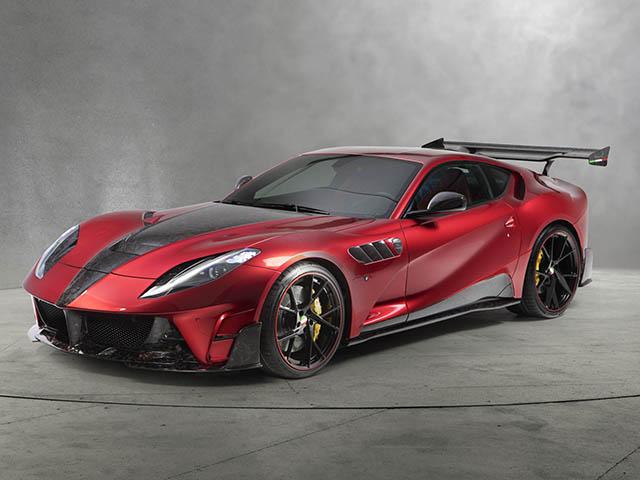 """Cận cảnh dàn xe """"độ"""" của Mansory tại Geneva Motor Show"""