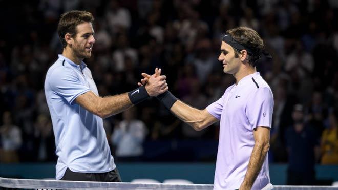 "Indian Wells: Vắng Nadal, Federer vẫn còn đụng ""kỳ đà"" Del Potro - 1"