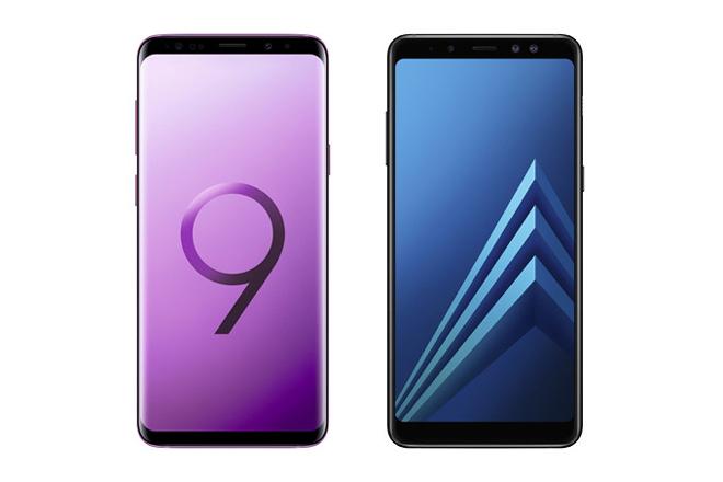 Samsung giới thiệu bản Enterprise của Galaxy S9 và Galaxy A8 - 1
