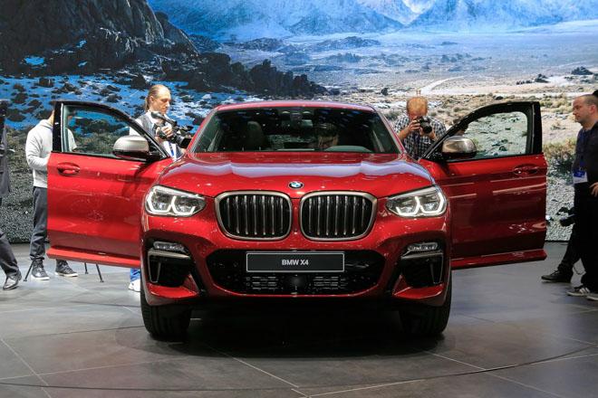 BMW X4 2019 sắp được THACO bán tại Việt Nam vào đầu năm 2019 - 2