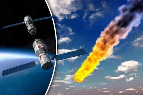 Tàu không gian Trung Quốc có thể rơi xuống Trái Đất tháng 4? - 1
