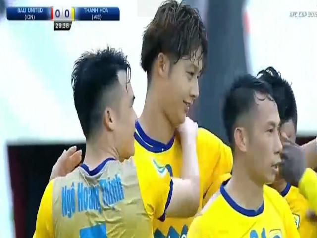 Bali United - Thanh Hóa: 8 phút 3 bàn, dấu hỏi Bùi Tiến Dũng