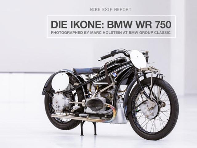 Mê mẩn trước bản sao của BMW WR 750 Kompressor 1929