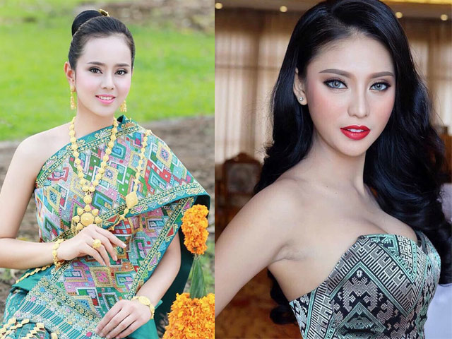 Ít thi hoa hậu nên mấy ai ngờ Lào có lắm cô gái xinh như tiên