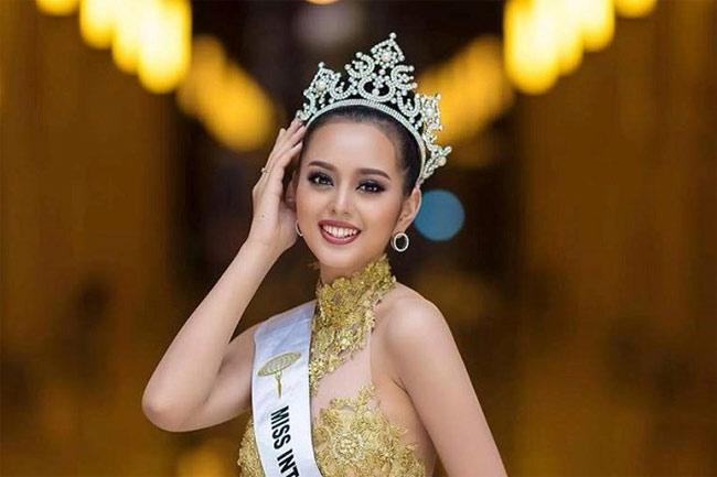 Phounesup Phonnyotha tuy chỉ đạt Á hậu 1 Hoa hậu Hòa Bình Lào (Miss Grand Laos 2017)
