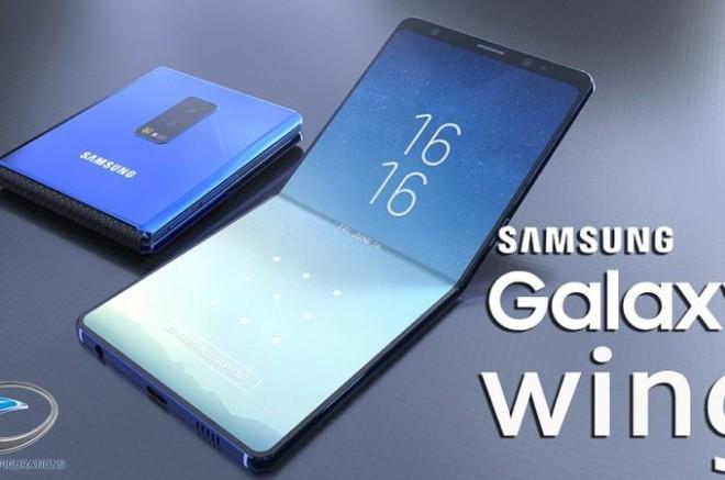"""""""Choáng"""" Samsung Galaxy Wing màn hình 7 inch 4K, gập lại được - 1"""