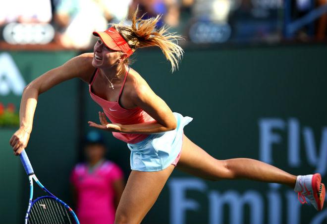 Sharapova - Osaka: Giằng co mệt nhoài, chiến thắng như mơ (Vòng 1 Indian Wells) - 1
