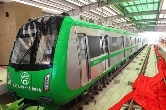 Bộ GTVT chốt thời gian vận hành đường sắt Cát Linh- Hà Đông - 1