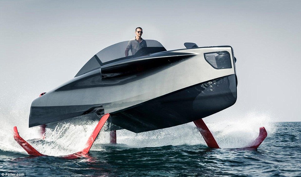"""Du thuyền có khả năng """"lăng ba vi bộ"""" - đồ chơi mới của giới siêu giàu - 1"""
