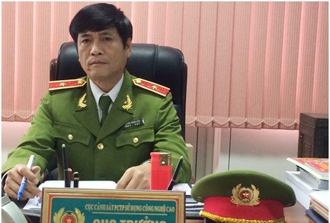Bắt giam nguyên Cục trưởng Cảnh sát phòng chống tội phạm công nghệ cao - 1