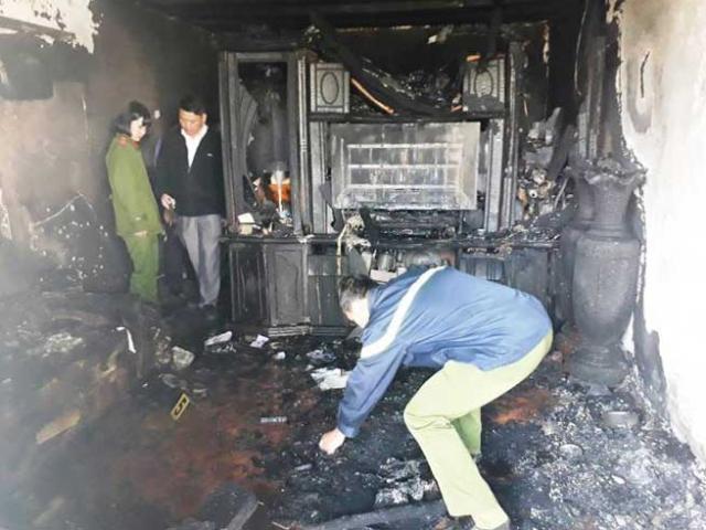 Cận cảnh hiện trường vụ cháy kinh hoàng làm 5 người tử vong ở Đà Lạt