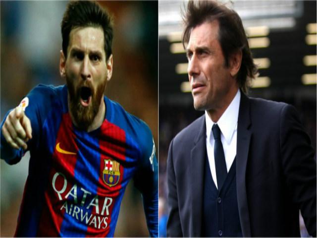 """Chelsea dựng """"pháo đài"""" ở Nou Camp: """"Ma pháp"""" Conte đấu Messi"""