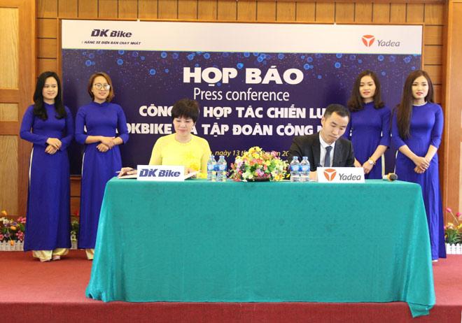 DKBike hợp tác chiến lược với YADEA và AIMA tại thị trường Việt Nam - 1