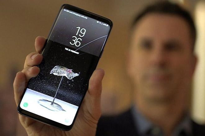 Galaxy S10 có camera TrueDepth và cảm biến vân tay nhúng vào màn hình - 1