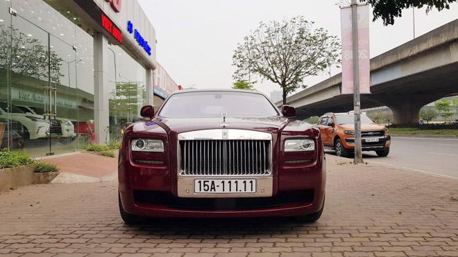 Cơ hội sỡ hữu Roll-Royce Ghost biển ngũ quý giá hơn 11 tỷ đồng - 1