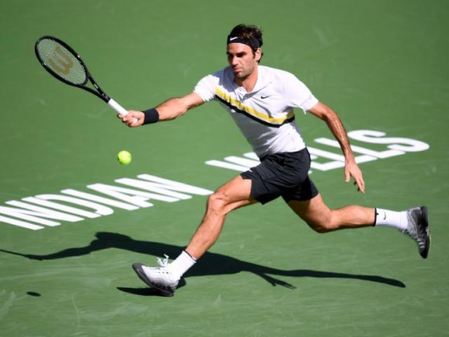 """Tuyệt tác Indian Wells: Federer chém bóng góc """"0 độ"""", Potro chạy """"cắm đầu"""""""