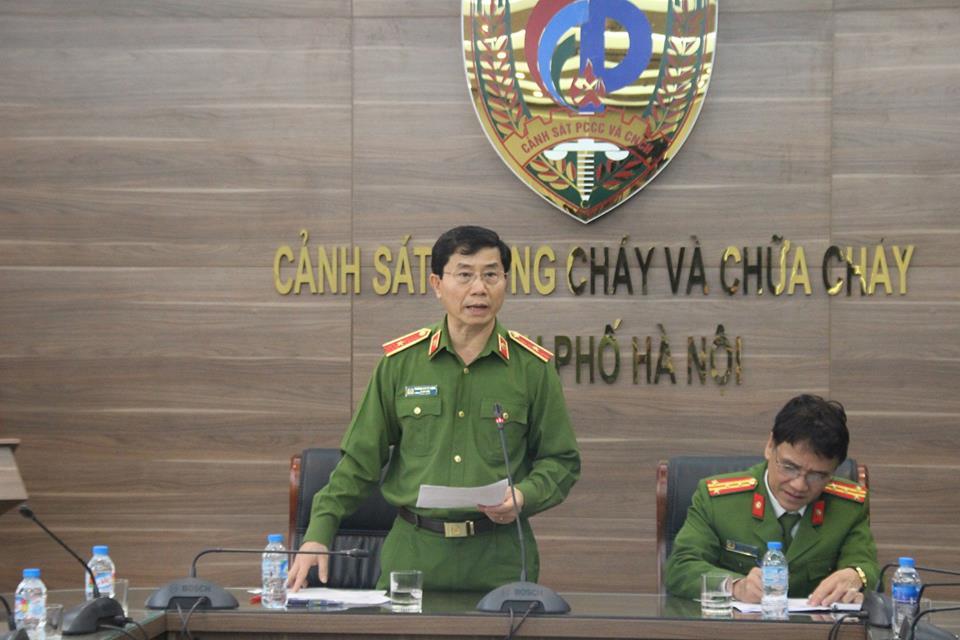 Giám đốc Cảnh sát PCCC nói gì về vụ xe cứu hỏa bị tông trên cao tốc? - 1