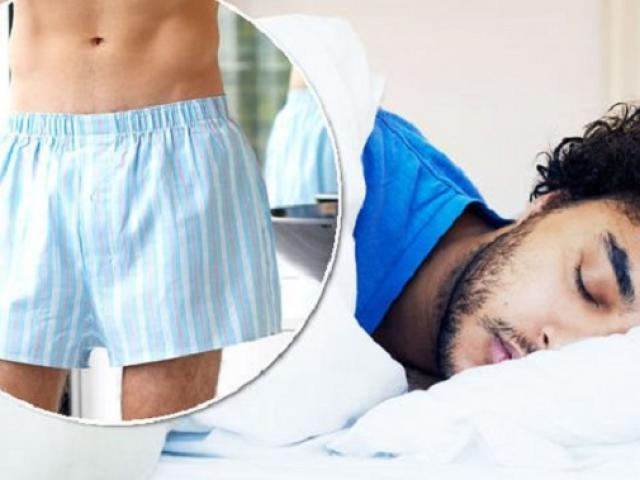 Quý ông khỏa thân khi ngủ nhận hàng tá lợi ích tuyệt diệu cho sức khỏe