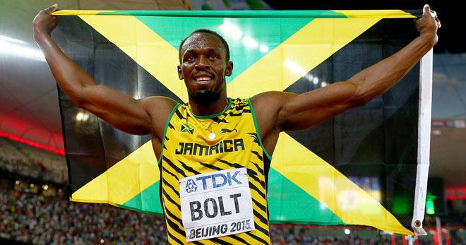 """Usain Bolt tập cùng """"nam thần"""" Marco Reus: Đánh đầu ghi bàn, khán giả phấn khích - 1"""