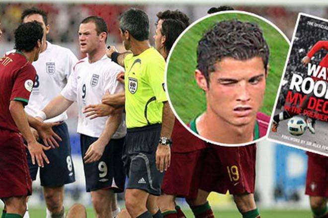 """Khoảnh khắc điên rồ World Cup: Ronaldo nháy mắt """"hắc ám"""", Rooney ôm hận ngàn thu - 1"""