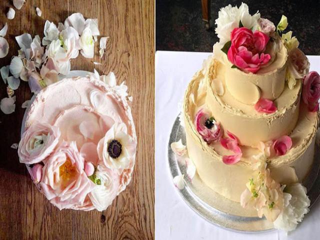Ngắm chiếc bánh cưới của hoàng tử Anh Harry và  hôn thê Meghan